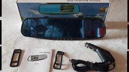 Видеокамеры - Видеорегистратор зеркало Full HD, 0