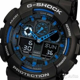 Наручные часы - Casio G-Shock GA-100-1A2, 0