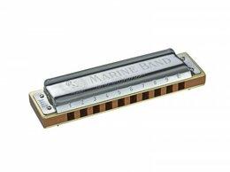 Губные гармошки - Hohner M1896086X Marine Band 1896/20 G Губная…, 0
