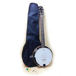 Щипковые инструменты - Caraya BJ-006 Банджо 6-струнное, 0