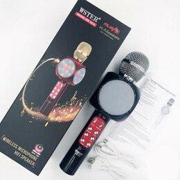 Микрофоны - Bluetooth микрофон для караоке WS-1816, 0