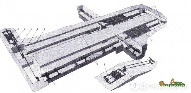 Скребковый транспортер навозоудаления ТС-1 по цене 240000₽ - Производственно-техническое оборудование, фото 0