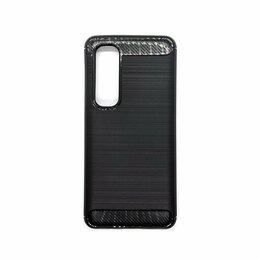 Чехлы - Защитный чехол Mi Note 10 Lite UniCase Carbon черный, 0