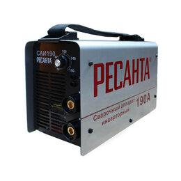 Сварочные аппараты - Инвертор сварочный Ресанта САИ 190, 0