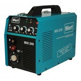 Сварочные аппараты - Сварочный полуавтомат WERT MIG 240, 0
