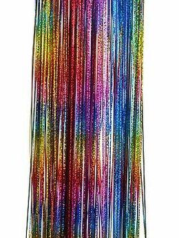 Ёлки живые - Дождик ёлочный РАДУЖНЫЙ БЛЕСК, 200х15 см, MOROZCO, 0