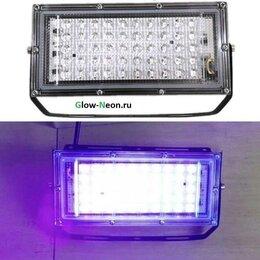 Прожекторы - Прожектор ультрафиолетовый диодный LED 50Вт UV 220, 0