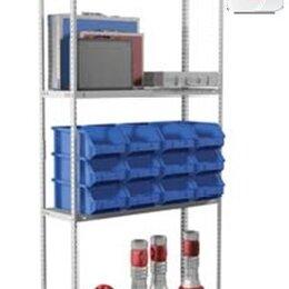Мебель для учреждений - Стеллаж MS Standart металлический 185/70х30/4 полки, 0