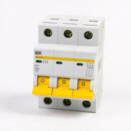 Защитная автоматика - Автоматический выключатель 3Р C 32А IEK ва47-29, 0