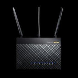 Оборудование Wi-Fi и Bluetooth - Маршрутизатор Asus RT-AC68U, 0