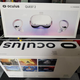 Очки виртуальной реальности - Oculus Quest 2. 64Gb Новый. В наличии. , 0