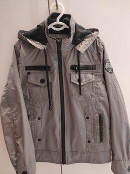 Куртки и пуховики - куртка ветровка для мальчика 6-8 лет, 0