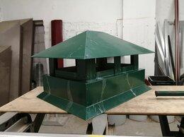 Вентиляция - Дымник с капельником 405*545 зелёный RAL6005 тип…, 0