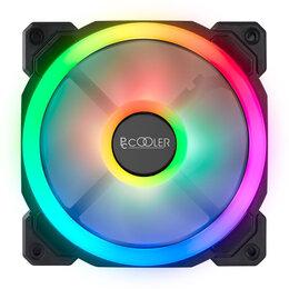 Кулеры и системы охлаждения - Вентилятор RGB Новый , 0