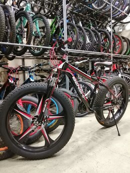 Велосипеды - Велосипед фэтбайк, 0