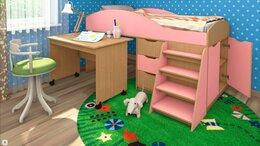 Кроватки - Кровать чердак, 0