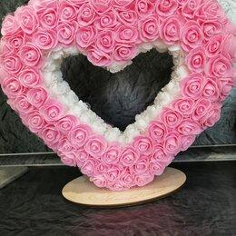 Свадебные украшения - Сердце из роз , 0