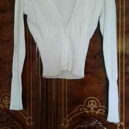 Блузки и кофточки - Кофточка белая, 0