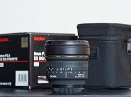 Объективы - Объектив Sigma AF 8mm f/3.5 EX DG Circular Fisheye, 0