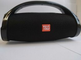 Портативная акустика - Колонка блютуз портативная T&G 136, 0