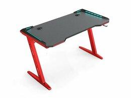 Компьютерные и письменные столы - Стол компьютерный игровой красный 140 см, 0