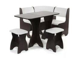 Столы и столики - Кухонный набор Тюльпан-мини венге/милк, 0