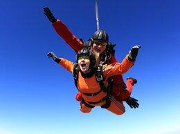 Спорт - Прыжок с парашютом, 0