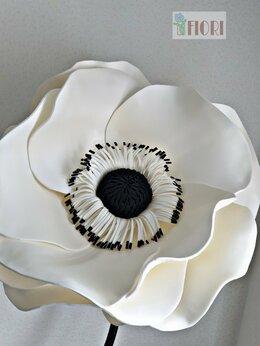 """Цветы, букеты, композиции - Интерьерный цветок """"Анемона"""", 0"""