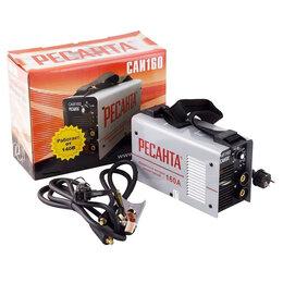 Сварочные аппараты - Сварочный аппарат Ресанта САИ160 инверт. 160А, 0