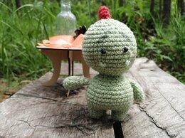Мягкие игрушки - вязаные малютки - дракончики, 0