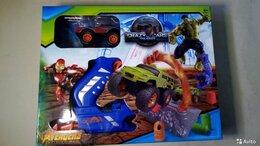 Машинки и техника - Автотрек Avengers Crazy Cars, 0