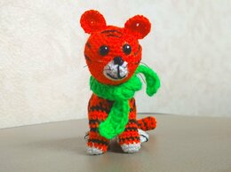 Мягкие игрушки - Тигренок Ррр, 0