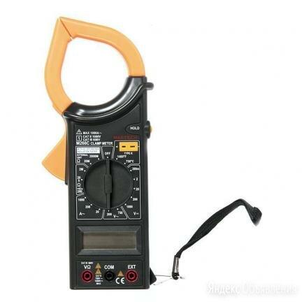 M266C клещи токоизмерительные MASTECH M266C по цене 1335₽ - Измерительные инструменты и приборы, фото 0