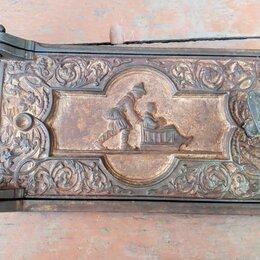 Камины и печи - Дверка печная, поддувальная Каслинское литьё, начало 20 века, 0