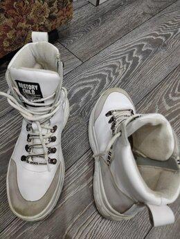 Ботинки - Ботинки под кросовки с молнией шнурками разм40,б.у, 0