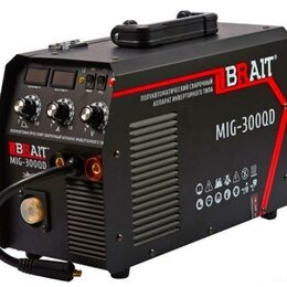 Сварочные аппараты - Сварочный полуавтомат Brait MIG-300QD (Новый), 0