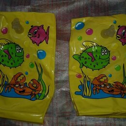 Надувные игрушки - Надувные нарукавники для плавания детские, 0
