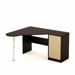 Компьютерные и письменные столы - Стол письменный угловой, 0