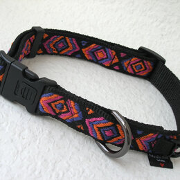Ошейники  - Ошейник ручной работы для собаки с обхватом шеи от 35-до 55 см., 0