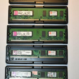 Модули памяти - Оперативная память Kingston 2Gb DDR2 KVR800D2N6/2G 800MHz, 0
