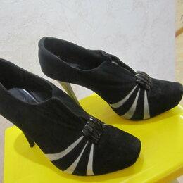 Туфли - Туфли замшевые, 0