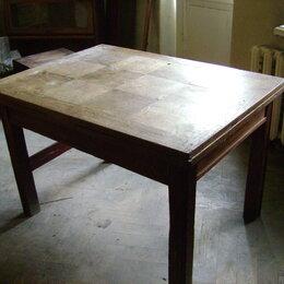Столы и столики - Стол антикварный раздвижной обеденный, 0