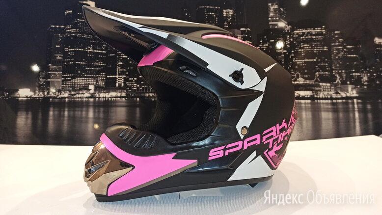 Мото кросс эндуро шлем детский по цене 3200₽ - Спортивная защита, фото 0