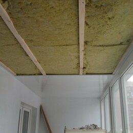 Окна - Балкон утепление мин ватой , 0