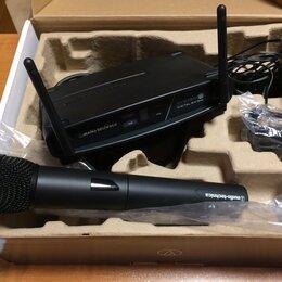 Радиосистемы и радиомикрофоны - Радиомикрофон проф. Audio-technica ATW-1102(ЕХ), 0