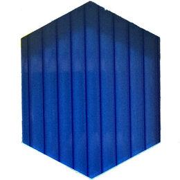 Поликарбонат - Сотовый поликарбонат 6мм синий (6м), 0