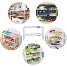 Подставки и держатели - Органайзер для посуды складной, 0