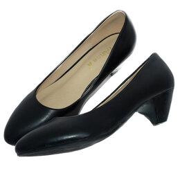 Балетки, туфли - Туфли черные классика 34 размер, 0