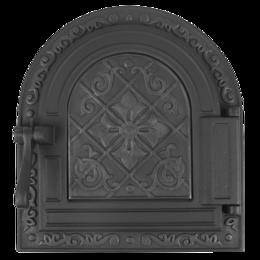 """Камины и печи - Топочная дверка герметичная """"Очаг сплошная"""" 250*290 Варвара, 0"""