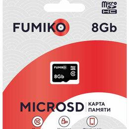 Карты памяти - Карта памяти MicroSDHC 8GB Class 10 (без адаптера SD) FUMIKO, 0